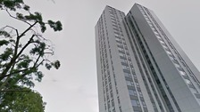 'Unsafe' cladding to be stripped off tower near Grenfell