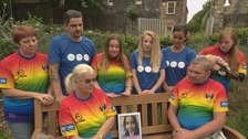 Memorial bench for Katie Rough unveiled in York