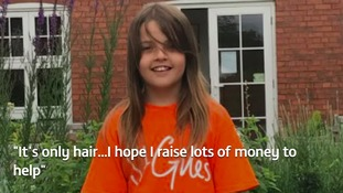 """I want to help them"": 10-year-old prepares to shave head for charity"