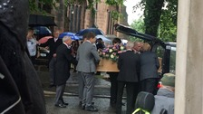 Funeral of teenager killed in Manchester terror attack