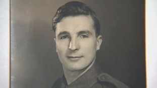 Alfred Barlow was part of the D-Day landings in Normandy in 1944