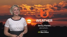 Cooler and fresher over the next few days