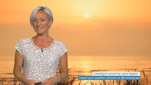 Wales Weather: Cool with showers later!