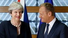 'Dreamer' Tusk hopes UK might change its mind on Brexit