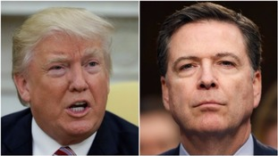 Donald Trump denies making secret recordings of chats with fired FBI chief James Comey