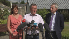 Differing views from DUP and SF on talks progress