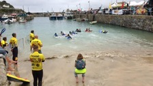 paddle race