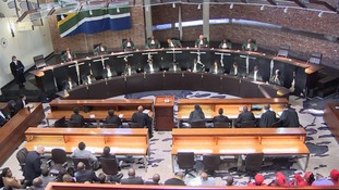 The Constitutional Court ruled that a vote of no confidence could be held in secret