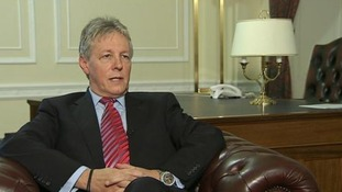 First Minister of Northern Ireland Peter Robinson