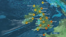 Weather: Fresher start with rain in northwest