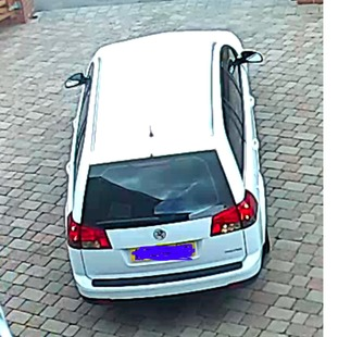 Car involved in burglary