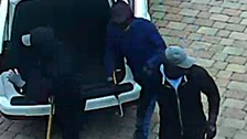 Three suspect burglars involved in the burglary on Avondale Road