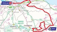 Tour of Britain route through Borders revealed