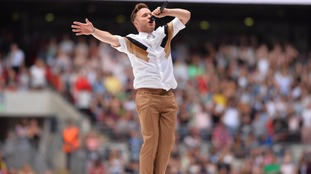 Fans told to expect armed police at Olly Murs concert in Wrexham
