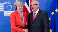 Juncker: May's EU citizen residency rights offer 'insufficient'