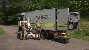 75 years of Cambridgeshire's bomb disposal squadron
