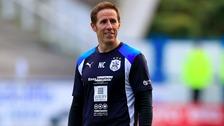 Huddersfield goalkeeping coach Nick Colgan