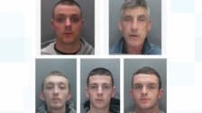 Appeal for five men linked to Merseyside gun crime