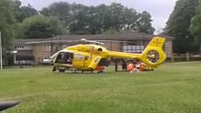 Boy airlifted to hospital after hit and run in Luton