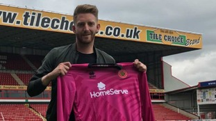 Goalkeeper Gillespie signs two year deal with Walsall