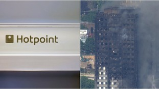 Hotpoint fridge freezer may have been the cause of the Grenfell Tower fire
