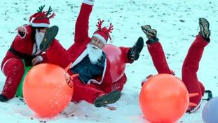 When You Wish Upon A Star santa fun run