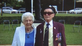 Alfred Barlow landed on Sword Beach on D-Day on June 6 1944.