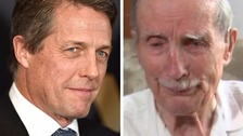 Hugh Grant offers reward for blind D-Day hero's medals