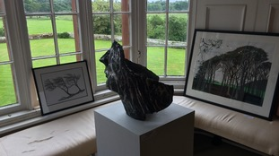 Art exhibition held at former home of Bishops of Carlisle