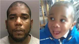 Man jailed for life over abuse and murder of partner's two-year-old son
