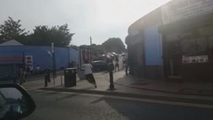 Gangs fighting in Sheffield