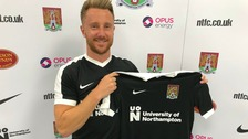 The Cobblers have signed Bowditch on a two year contract