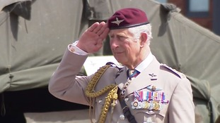 Prince Charles has been Colonel-in-Chief of the Parachute Regiment since 1977.