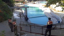 Five dead 'after being electrocuted at Turkey water park'