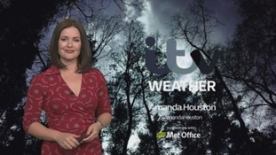 A breezy start to the weekend with rain in places