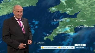 Fresher temperatures and scattered showers