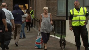 Some 800 households are to be rehoused in temporary accommodation