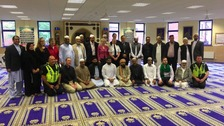 Council and faith leaders supporting Muslim community