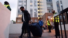 Anger and confusion amid evacuations in wake of Grenfell