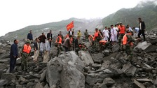 Fears for more than 140 missing after China landslide