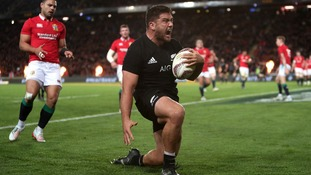 New Zealand beat Lions in first Test