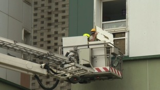 No evacuation at Mount Wise towers in Plymouth
