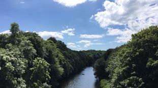 Durham skies by Hannah Booth Hughes