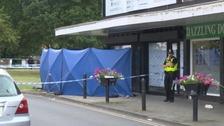 High Street in Aldridge has been cordoned off