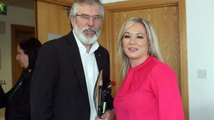 Gerry Adams spoke at the event on Saturday.