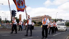 Whiterock parade passes off peacefully