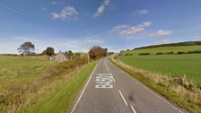 Road closed after serious crash in north Wales