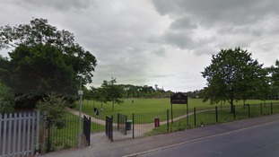 The girl was attacked in Nuthurst Park in Moston.