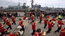 Theresa May thanks military at Armed Forces Day