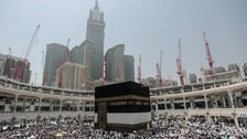 Saudi forces foil plot to blow up Mecca's Grand Mosque
